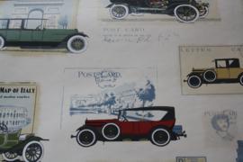 behang met auto's in verschillende kleuren