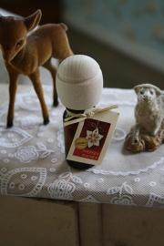 """flesje heerlijk ruikende geurolie met houten druppeldop """"Peperkoek"""""""