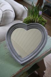 mooie hartvormige spiegel
