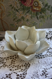 rose tealight white