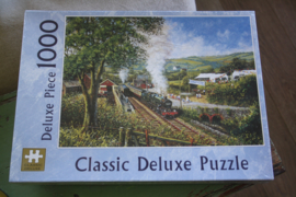 "Puzzel 1000 stukjes ""Classic de luxe , Train"""