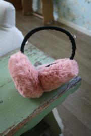 heerlijk warme oorwarmers in roze