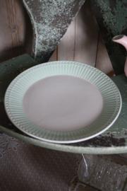 Plate Allice pale green