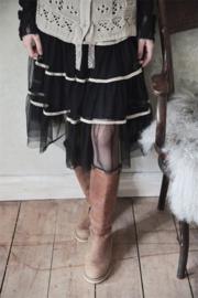 Skirt faded temptation black XS/S