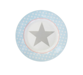 "happy plate ""Blue star"""