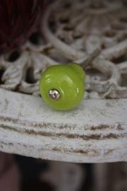 mooi klein simpel kastknopje in groen