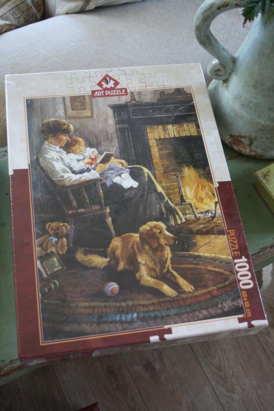 "Puzzel 1000 stukjes ""Nostalgia bedtime story"""