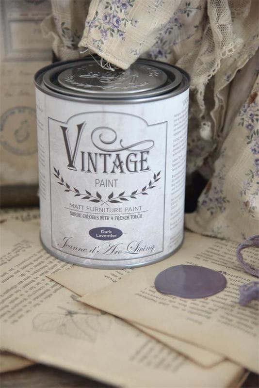 "Vintage paint ""Dark Lavender"" 700ml"