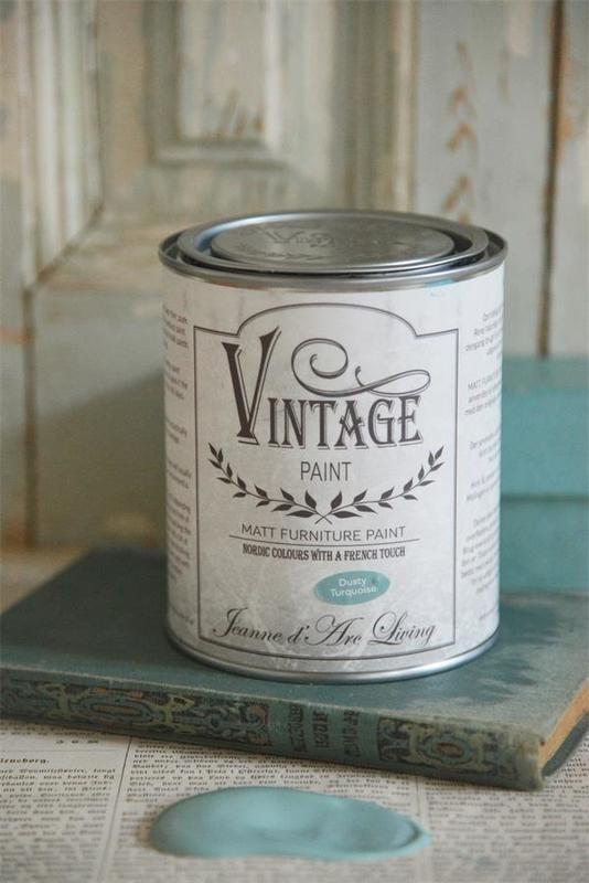 "Vintage paint ""Dusty Turquoise"" 700 ml"
