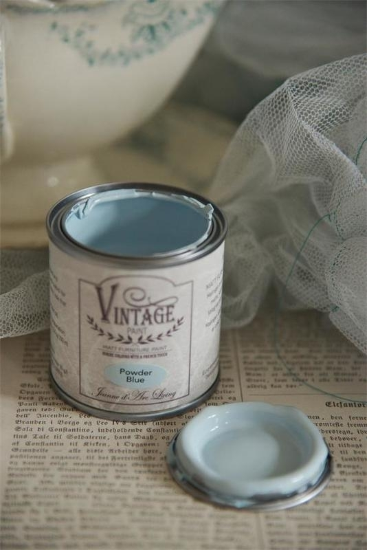 "Vintage paint ""Powder blue"" 100 ml"