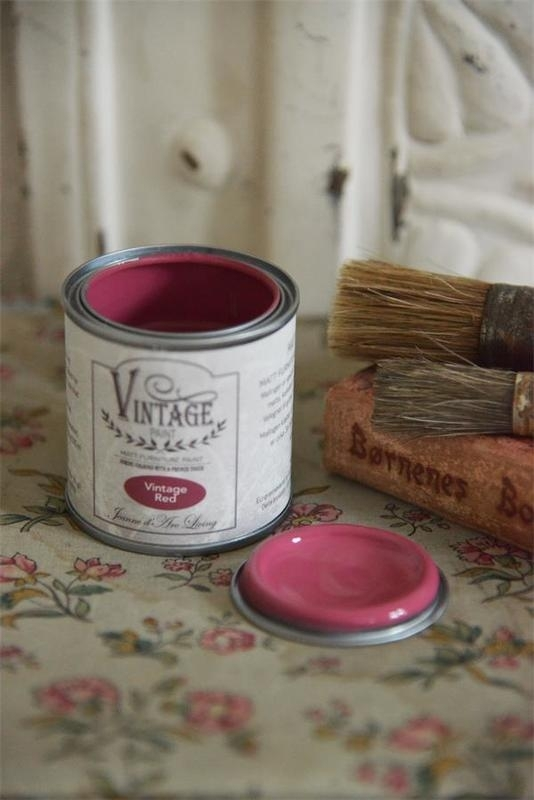 "Vintage paint ""Vintage red"" 100ml"