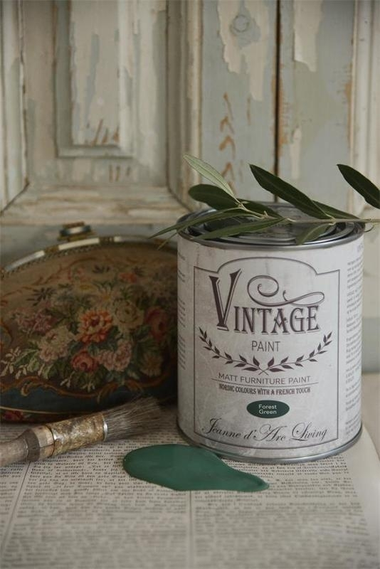 "Vintage paint ""Forrest green""  700 ml"