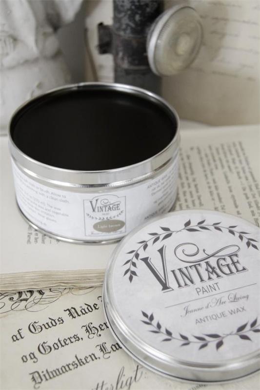 "Vintage wax ""light brown"""