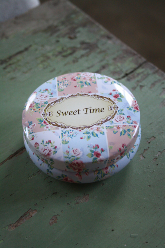 """lief rond blik """" Sweet time"""" S"""