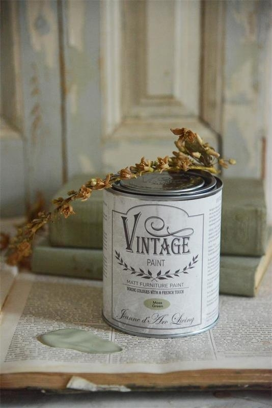 "Vintage paint ""Moss green"" 700 ml"