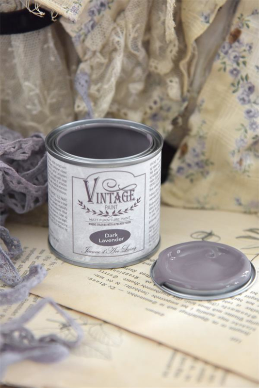 "Vintage paint ""Dark Lavender"" 100ml"