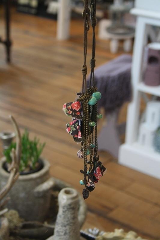lange veterketting met hanger