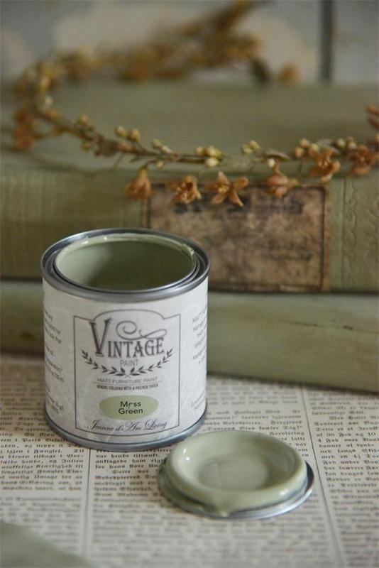 "Vintage paint ""Moss green"" 100 ml"
