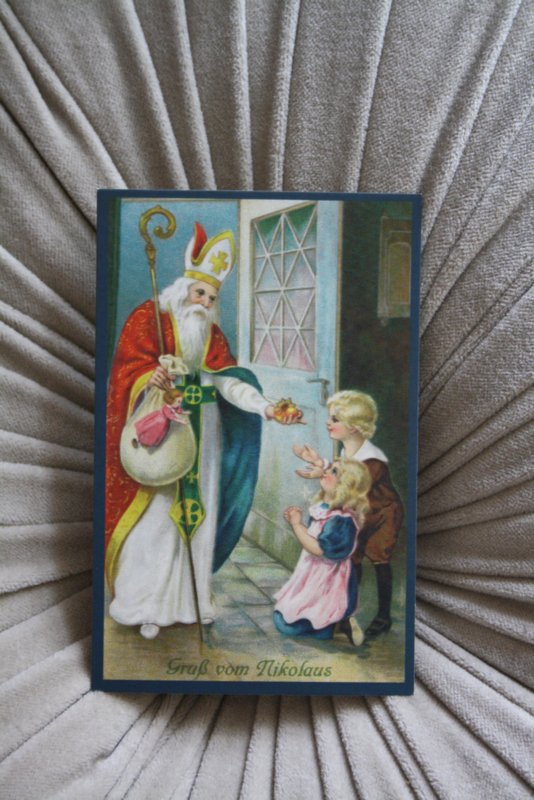 "mooi kaartje ""kadootje van Sinterklaas"""