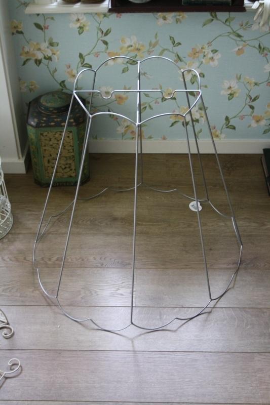 groot frame voor een lampenkap