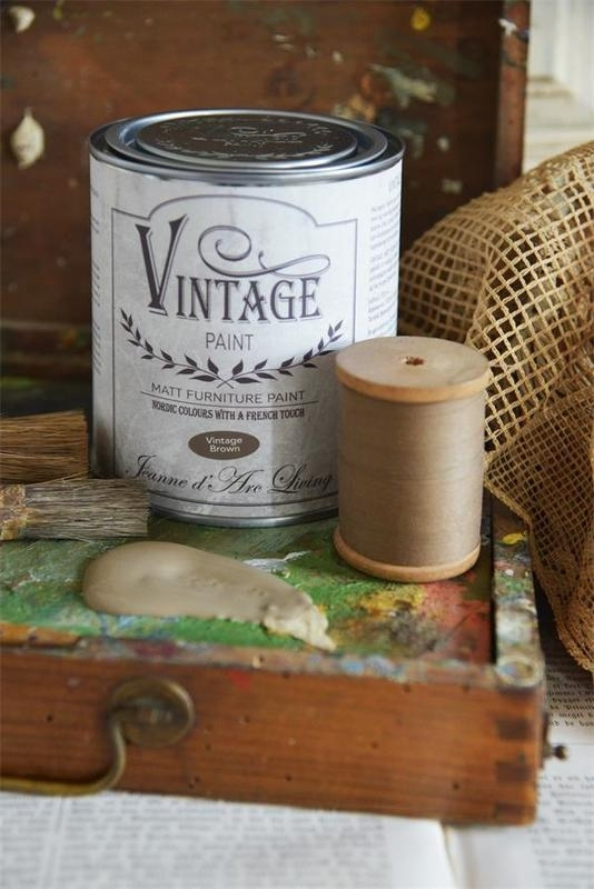 "Vintage paint ""Vintage brown"" 700 ml"