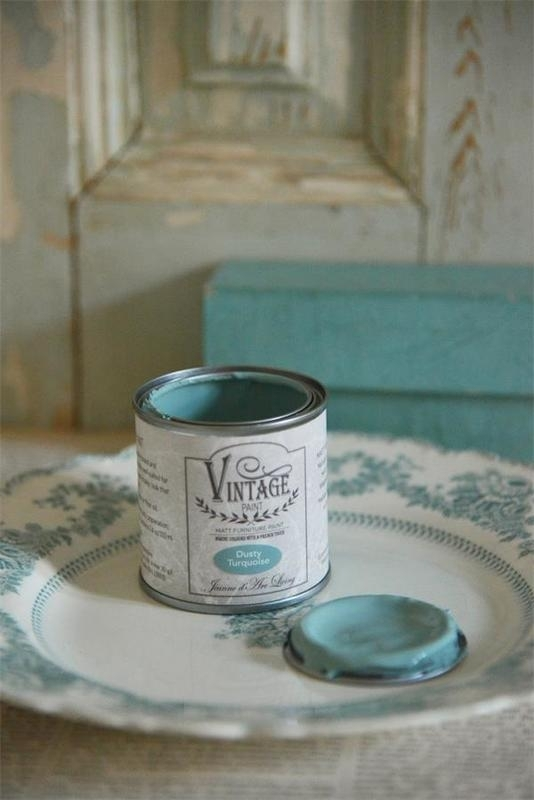 "Vintage paint ""Dusty Turquoise"" 100 ml"