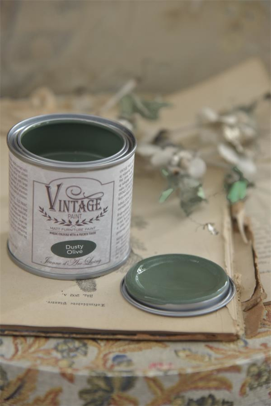 "Vintage paint ""Dusty Olive "" 100ml"
