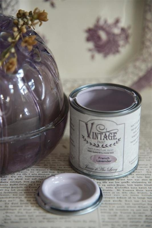 "Vintage paint ""French lavender"" 100 ml"