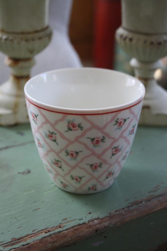Latte  cup Rita pale pink