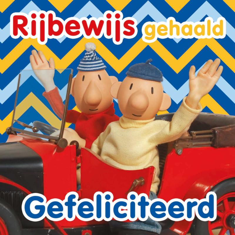 """Buurman en Buurman kaart """"Rijbewijs"""""""