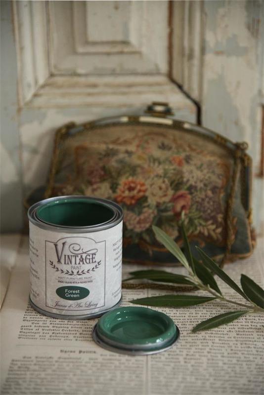 "Vintage paint ""Forrest green"" 100 ml"