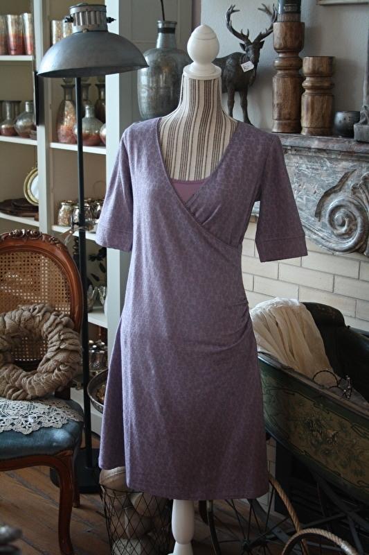 "prachtige jurk ""Taina Flower blueberry"" maat S"