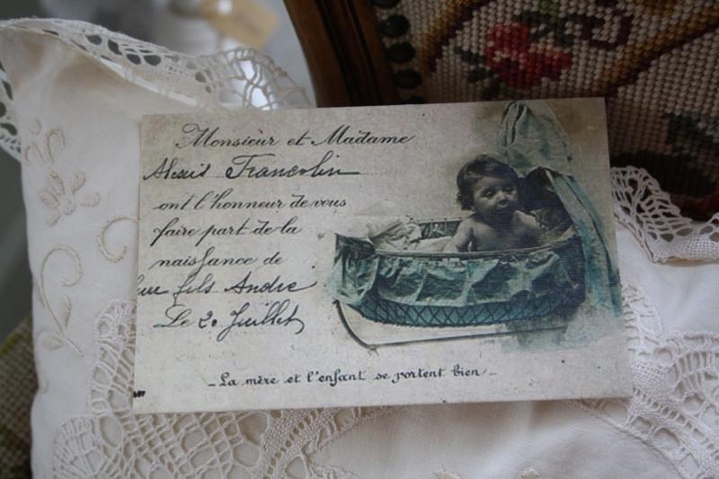"""ansichtkaart van handgeschept papier """"Kiekeboe"""""""