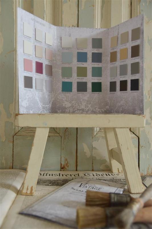 kleurenkaart Vintage paint XL Zonder nieuwe kleuren