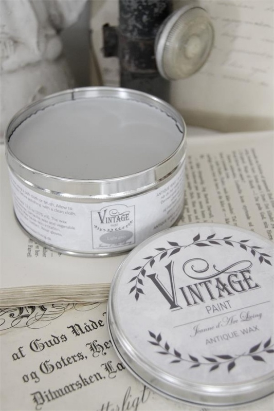 "Vintage wax ""Light grey"""