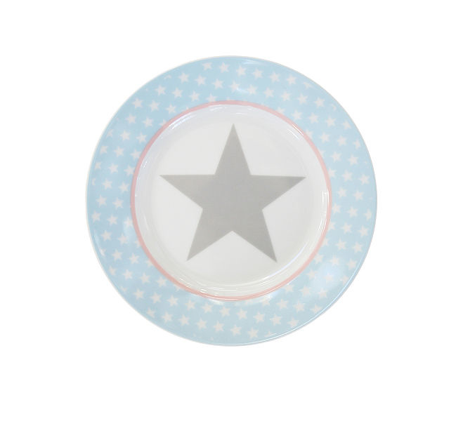 """happy plate """"Blue star"""""""