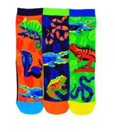Oddsocks - Mismatched verschillende sokken - Reptielen - maat 31 tot 38