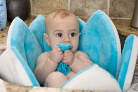 Blooming Bath baby bloemenbad Blauw