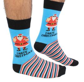 I Hate Christmas sokken - maat 39/46