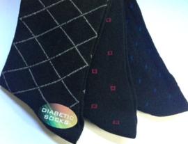 Non Elastic Flexi top sokken zonder knellend boord - set van 3 paar mt 39 - 45