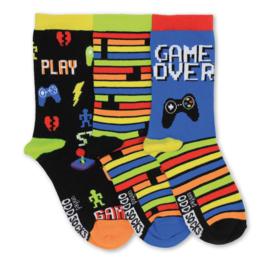 Oddsocks - Gekke Mismatched Sokken - PLAY - 3 sokken - maat 31 tot 39