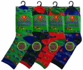 Set van 3 paar sokken maat 30-33 Racers