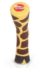 Giraf sokken - Silly socks - maat 33-37