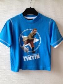 TinTin (Kuifje) T-shirt blauw