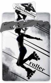 Sport dekbedovertrek  Rolschaatser / Skater