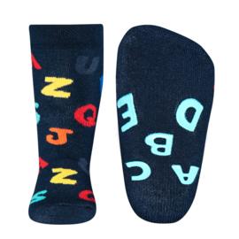 Ewers anti slip sokken letters maat 17-18