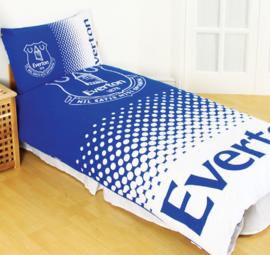 Everton dekbedovertrek blauw wit