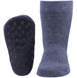 Ewers STOPPI anti slip sokken Jeansblauw maat 18-19