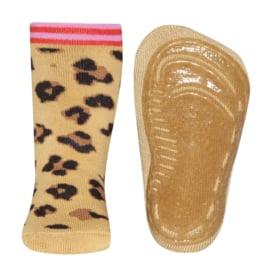 Ewers SOFTSTEP anti slip sokken leeuw met roze - maat 25/26