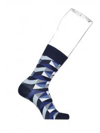 Bonnie Doon Tangram heren sokken light navy  mt 40 - 46